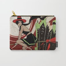 Halloween Witch Flying (vintage) Carry-All Pouch