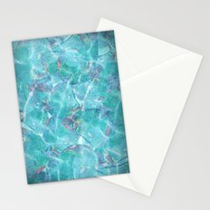 Fresh Blue Stationery Cards