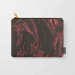 Adrift - Abstract Suminagashi Marble Series - 10 Carry-All Pouch