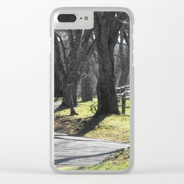 Winding Way Clear iPhone Case