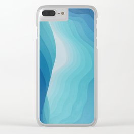 Peering out Clear iPhone Case