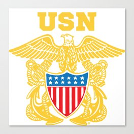 Navy Insignia Canvas Print