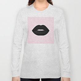 black lips Long Sleeve T-shirt