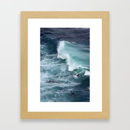 ~ w a v e ~ (02) Framed Art Print