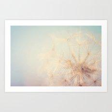 dandelion dreams ... Art Print