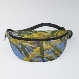 Mimosa tree branches Fanny Pack