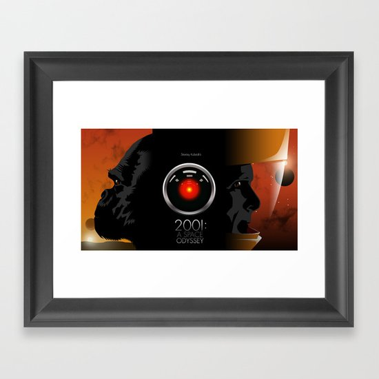2001 - A space odyssey Framed Art Print