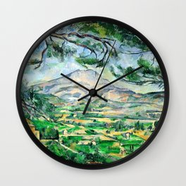 Paul Cézanne, Mont Sainte-Victoire, Courtald Wall Clock
