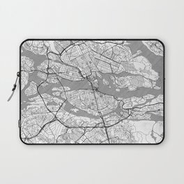 Stockholm Map Line Laptop Sleeve