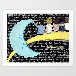 Night Changes Art Print