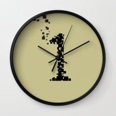 square 1 Wall Clock