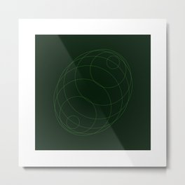 #298 Echo chamber – Geometry Daily Metal Print