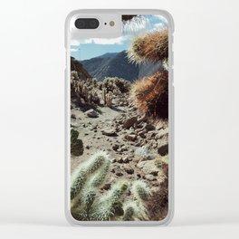 Cholla Frame Clear iPhone Case