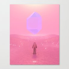 Lost Astronaut Series #03 - Floating Crystal Canvas Print