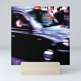 Taxiiiiiii! Mini Art Print