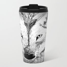 An inquisitive look  Travel Mug