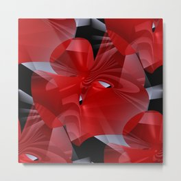 3D abstraction -02- Metal Print