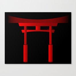 Japanese Tori Gate Canvas Print