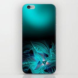 window curtain - fractal elegance -2- iPhone Skin