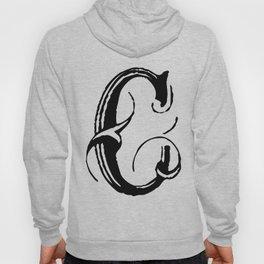 Fancy Letter C, Lettering Designs, Monogram, SI mple Hoody