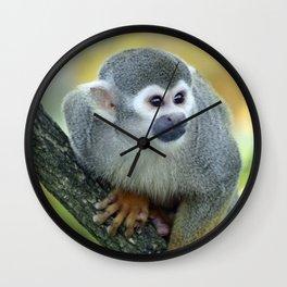 Monkey 004 Wall Clock