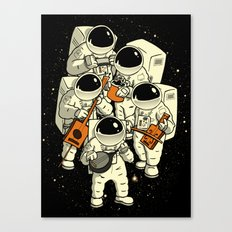 Space Jamboree Canvas Print