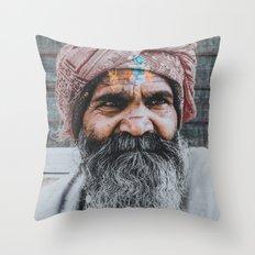India XXVII Throw Pillow