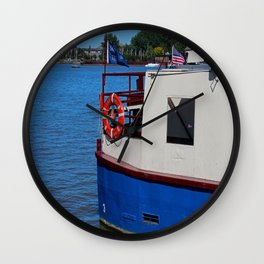 Sandpiper on the Maumee Wall Clock