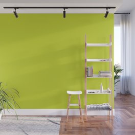 Spin Serve ~ Chartreuse Wall Mural