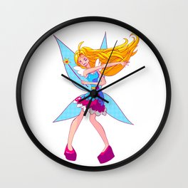 Heart Fairy! Wall Clock