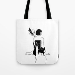 Turn Me On Tote Bag
