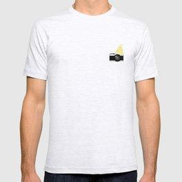 Pineapple Ice Cream Camera T-shirt