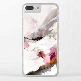 Day 23: Senses may override the mind, but a steady mind can abrogate the senses. Clear iPhone Case