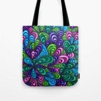jungle Tote Bags featuring Jungle by datavis/pwowk