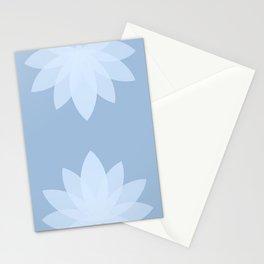 Minimal Lotus Flower X Stationery Cards