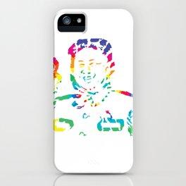 Abstract Kim Jong Un iPhone Case