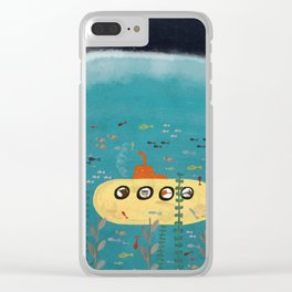 another little adventure Clear iPhone Case