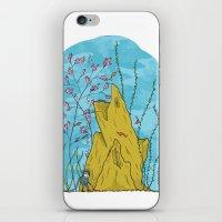 the life aquatic iPhone & iPod Skins featuring Our Life Aquatic by Hamburger Hands