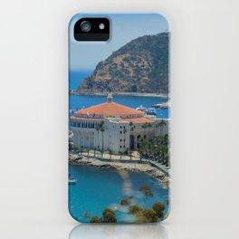 Catalina Island Casino iPhone Case