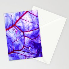 bloodstream abstract III Stationery Cards