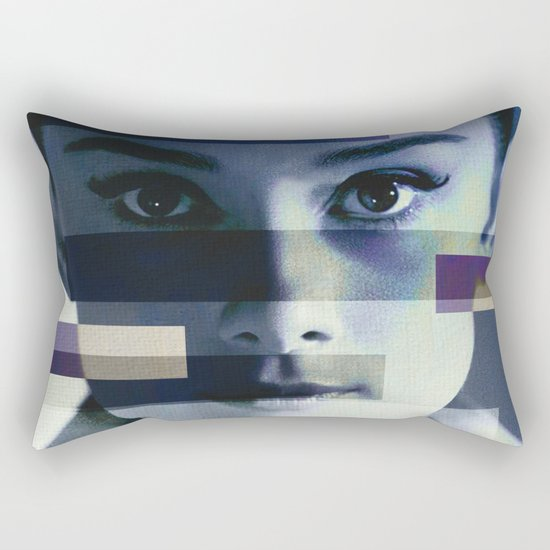 Divas - Audrey Hepburn Rectangular Pillow