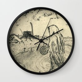 Illusions of Myth (Teeth) Wall Clock