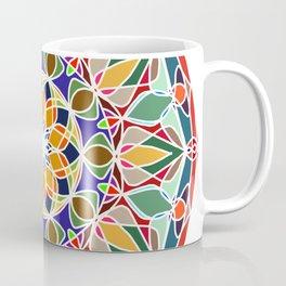 Round ornament in ethnic style Coffee Mug