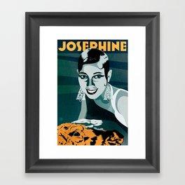 Josephine Baker Framed Art Print