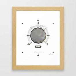 Basiq Knob Art Framed Art Print