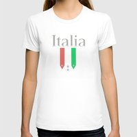 world cup T-shirts featuring Italia World Cup Logo by Bunhugger Design