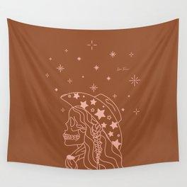 Love or Die Tryin' - Rhinestone Cowgirl - Rust & Peach Wall Tapestry