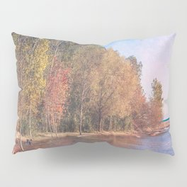 Somewhere There's Peace Pillow Sham