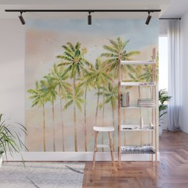 Early Morning On Tropical Island Wall Mural