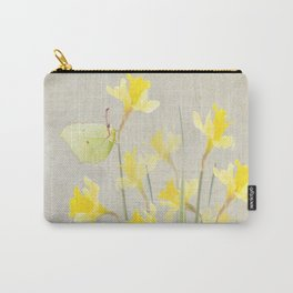 Daffodils and brimstone Carry-All Pouch